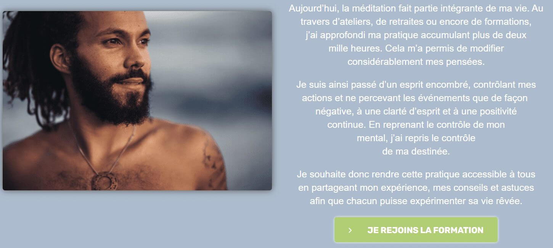 Formation Méditation de Jean Laval