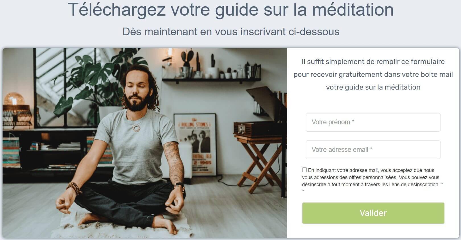 Guide gratuit sur la méditation par Jean Laval