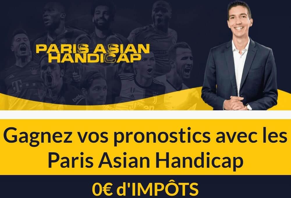 Formation Asian Handicap par Maxence Rigottier