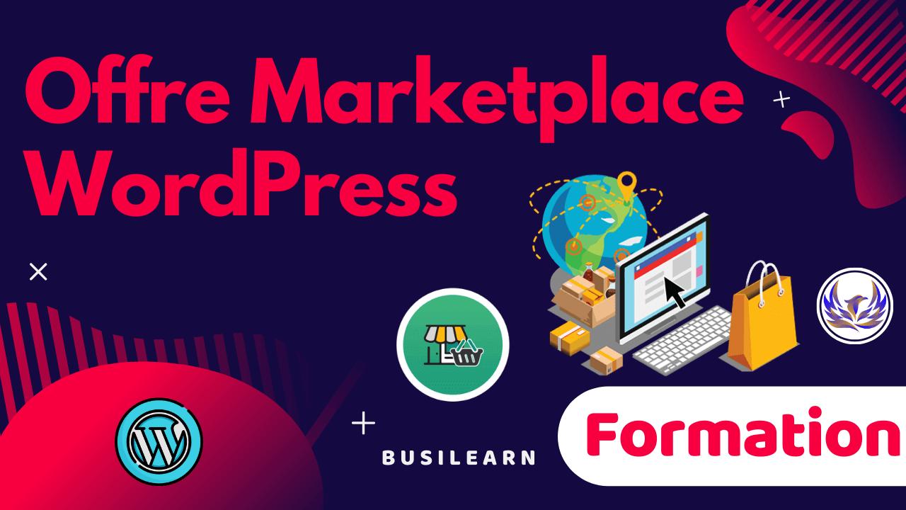 Formation Marketplace WordPress