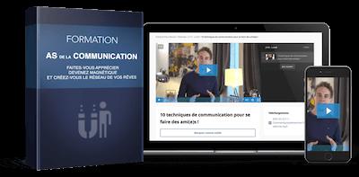 Formation as de la communication de David Laroche