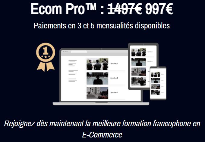 Prix de EC Pro Elite V3